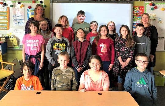 Kerri Ziegler's fourth grade class was a winner in the Penny Challenge