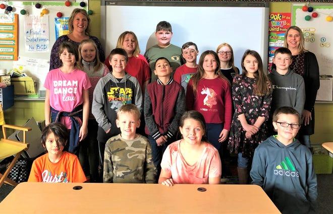 Kerri Ziegler's fourth grade class was a winner in the Penny Challenge