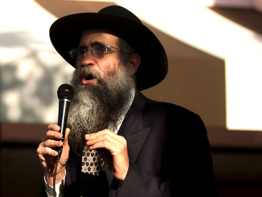 Rabbi Yitzchok Minkowicz of Chabad Lubavitch in south Fort Myers