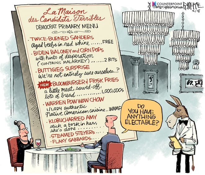 Democrats' choices.