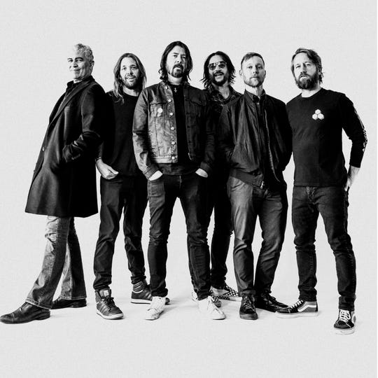 Foo Fighters are celebrating their 25th anniversary this year. Their self-titled debut album was released July 4, 1995.
