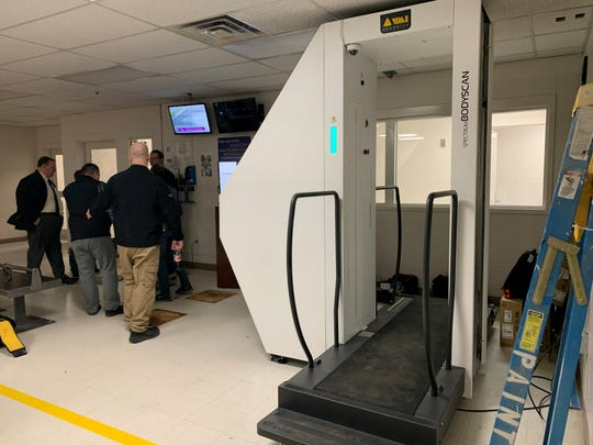 The Cascade County Sheriff's Office began using the SPECTRUM BODYSCAN DV by KPrime Technologies this week as a means to crack down on contraband being smuggled into the Cascade County Regional Detention Center. The technology is currently being used on a six-month trial period.