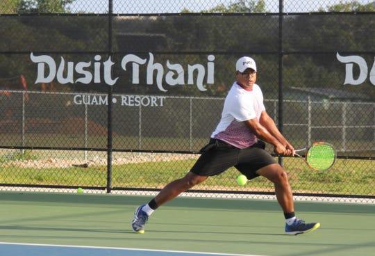 No. 2 seeded Victor Tuncap upset No. 1 Joshua Cepeda in the Men's Open finals in the Calvo's SelectCare Grand Prix Tennis Tournament, 6-2, 6-3, Sunday.