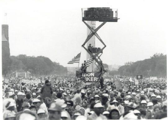 1981 Solidarity Day, Washington D.C.