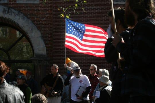 Occupy Iowa City protest 2011.