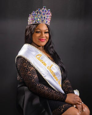Queen Suzanne Simonne' LXI , Paris Dominique LeRoux Rubin. Thursday, Feb. 20, 2020.