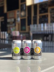 Gravely Brewing Co.'s new canned beers.