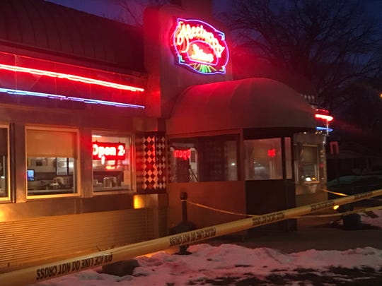 Two people were injured in a shooting early Feb. 20 at the Fleetwood Diner on South Cedar Street, just south of Mt. Hope Avenue.