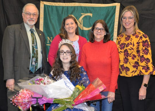 Laura Sykes was named Miss Wheelchair Ohio this month at North Central State College.