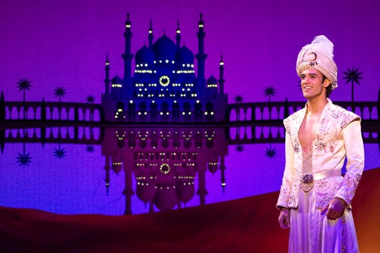 """Disney's Aladdin"" opened Feb. 26 and runs through March 8 at the Orpheum in Downtown Memphis."