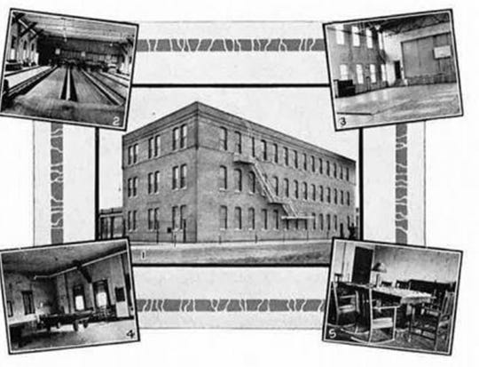 """The future home of the Bucyrus Club at 1919 12th Ave. in South Milwaukee. This photo first appeared in the Bucyrus """"SCOOP"""" employee magazine."""