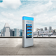 """Smart kiosks,"" like the one in this rendering, are coming to the Milwaukee streetcar route this spring, ahead of the Democratic National Convention."