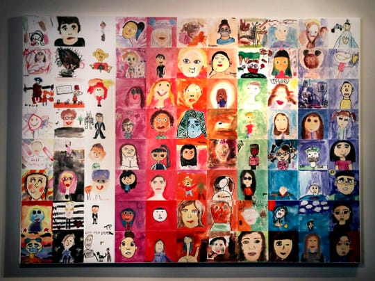 Boys & Girls Clubs students  have created an art piece of self-portraits based on the art museum exhibit, Portraits of Milwaukee. The portraits were unveiled Wednesday, February 19, 2020.