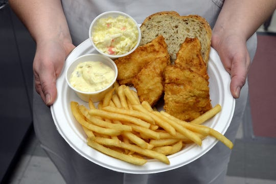 At St. Sebastian's Catholic Church, the cod fry is held on select dates in the school cafeteria, 1740 N. 55th St.