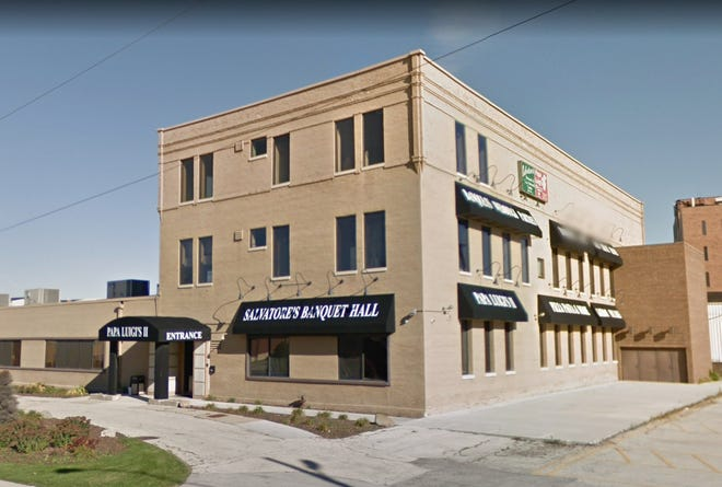 This downtown South Milwaukee Banquet Hall will be renovated as part of a $2 million gift from the Bucyrus Foundation to the city. A smaller portion of the gift will also be used to create a public space.