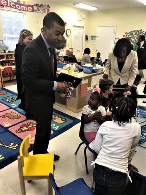 Mayor Reed visited Providence Early Childhood Learning Academy, a childcare provider participated in the grant process to receive funds for classrooms from the Alabama Department of Early Childhood Education