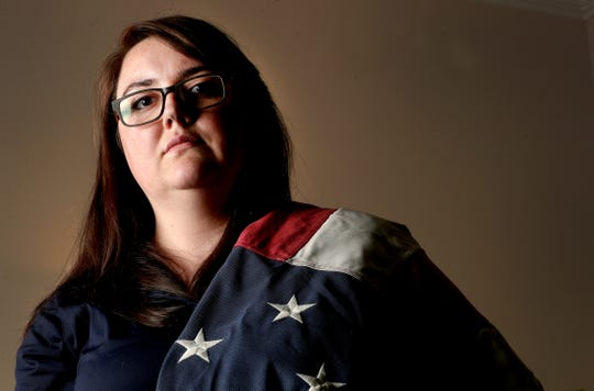 Stefanie Marvin-Miller was sexually assaulted while serving in the military. She now travels and shares her story of surviving sexual violence.