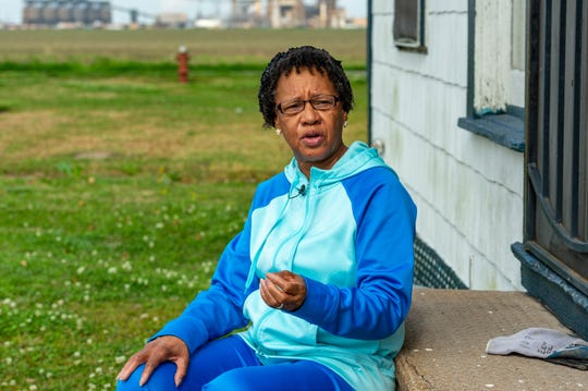 """St James resident Barbara Washington, pictured Feb. 11, 2020, doesn't want to leave the area known as """"Cancer Alley"""" because of ancestral land passed down from her fourth great grandmother, who purchased the land after being emancipated."""