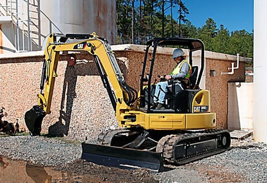 A 2016 Caterpillar 305E2 Excavator similar to this one was stolen in early February 2020 from a Las Cruces jobsite.
