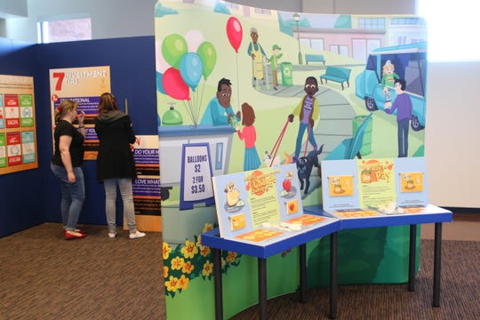 "The ""Thinking Money for Kids"" exhibition opening Feb. 21 at the Farmington Public Library is designed to teach financial literacy to children and adults."