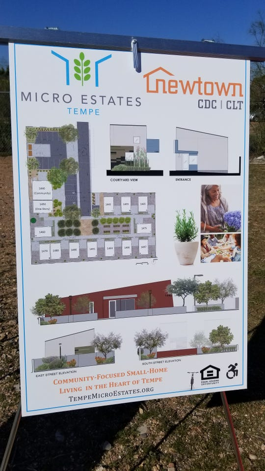 Newtown Community Development Corporation is building 13, 600-square-foot homes in north Tempe.
