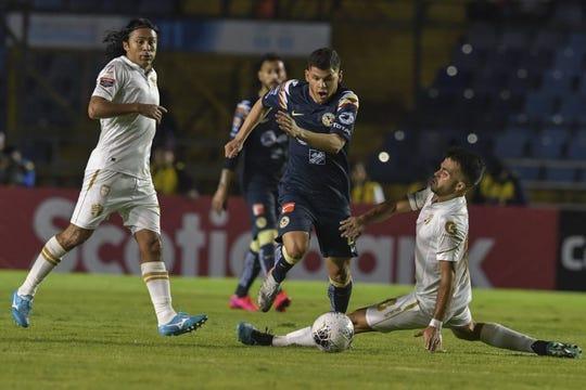 América empató 1-1 con el Comunicaciones de Guatemala.