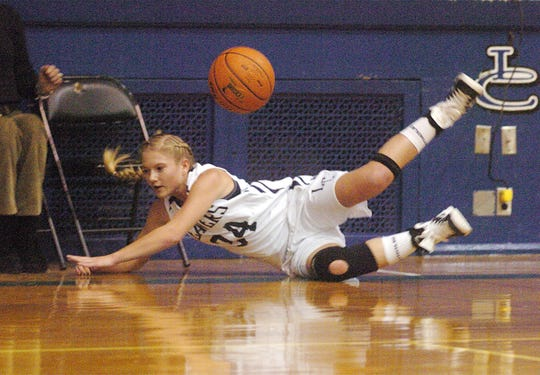 Kate Pastal, a 2012 grad, was the most intense of the four Pastal sisters to play for Patti Hower at Lebanon Catholic,