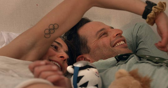 """Alexi Pappas  and Nick Kroll star in """"Olympic Dreams,"""" playing at Small Star Art House."""
