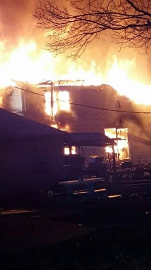 According to York County 911, the structure fire was reported around 6 a.m. in the 1500 block of Jacobs Mill Road in Heidelberg Township.