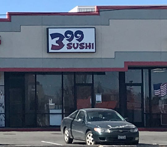 399 Sushi is replacing the Baked Bear ice cream in South Reno across from Home Depot.