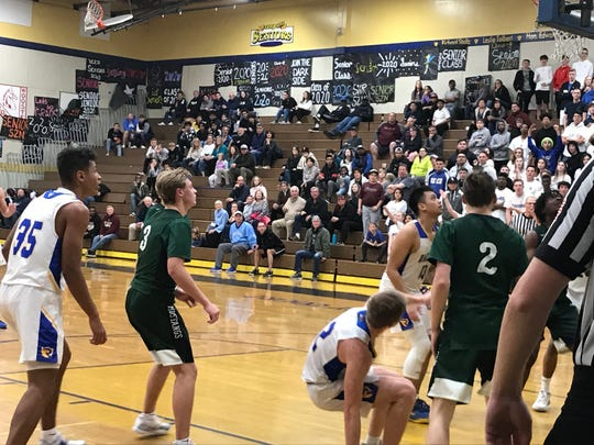Reed beat Damonte Ranch, 65-58 on Wednesday at Reed in a Northern 4A boys basketball playoff game.