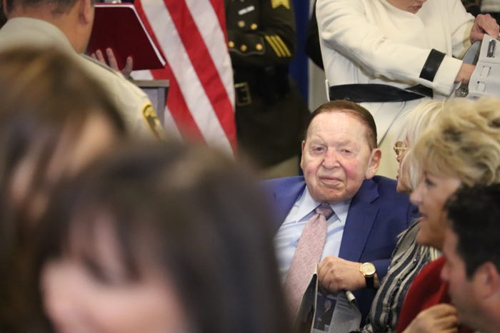 Las Vegas Sands CEO Sheldon Adelson extends COVID-19 shutdown pay for employees to May 17