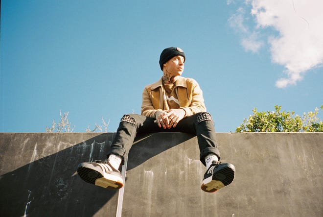 A 2019 publicity photo shows the Los Angeles rapper-singer-producer Blackbear.