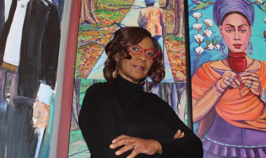 "Janice ""Ecinja"" McCaskill has work in the Tallahassee Proud exhibit."