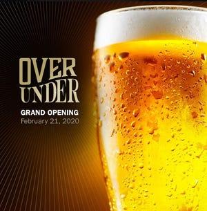OverUnder Bar opens Feb. 21.