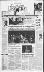 Then Vice President Al Gore was on hand when FSU first debuted the Mag Lab 25 years ago.