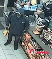 Two burglars steal a cash register in this security camera image from a Circle K store, 7100 N. Loop Drive in El Paso on Tuesday, Feb. 18, 2020.