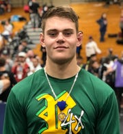Royal High's Jack Richards won a CIF-SS individual title and qualified for the Masters meet despite suffering a torn labrum in his left shoulder in December.