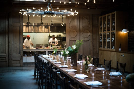 The Pullman Room at The Lark will be the setting for a Santa Barbara Culinary Experience Founding Sponsors Dinner prepared by host chef Jason Paluska and James Beard Award-winning guest chefs Suzanne Goin, Nancy Silverton and Michael Cimarusti.