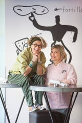Chefs and Julia Child Award winners Susan Feniger, left, and Mary Sue Milliken of Border Grill restaurant fame will headline a beachside lunch during the Santa Barbara Culinary Experience.
