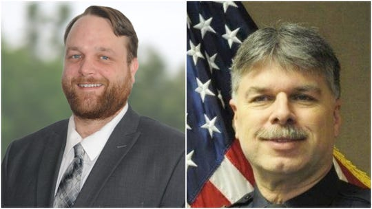 The candidates for Wausau's 5th City Council district, Joel Lewis, left, and James Wadinski
