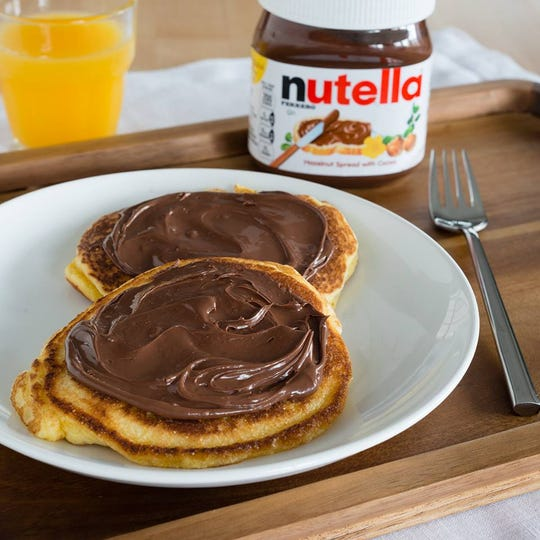 Nutella pancakes will be given out for free at the Nutella Pop-Up in Grand Central Feb. 29.