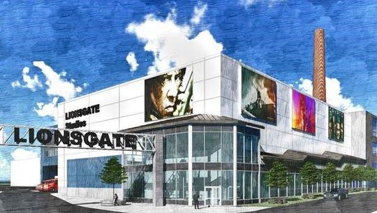 Rendering of proposed Lionsgate studio