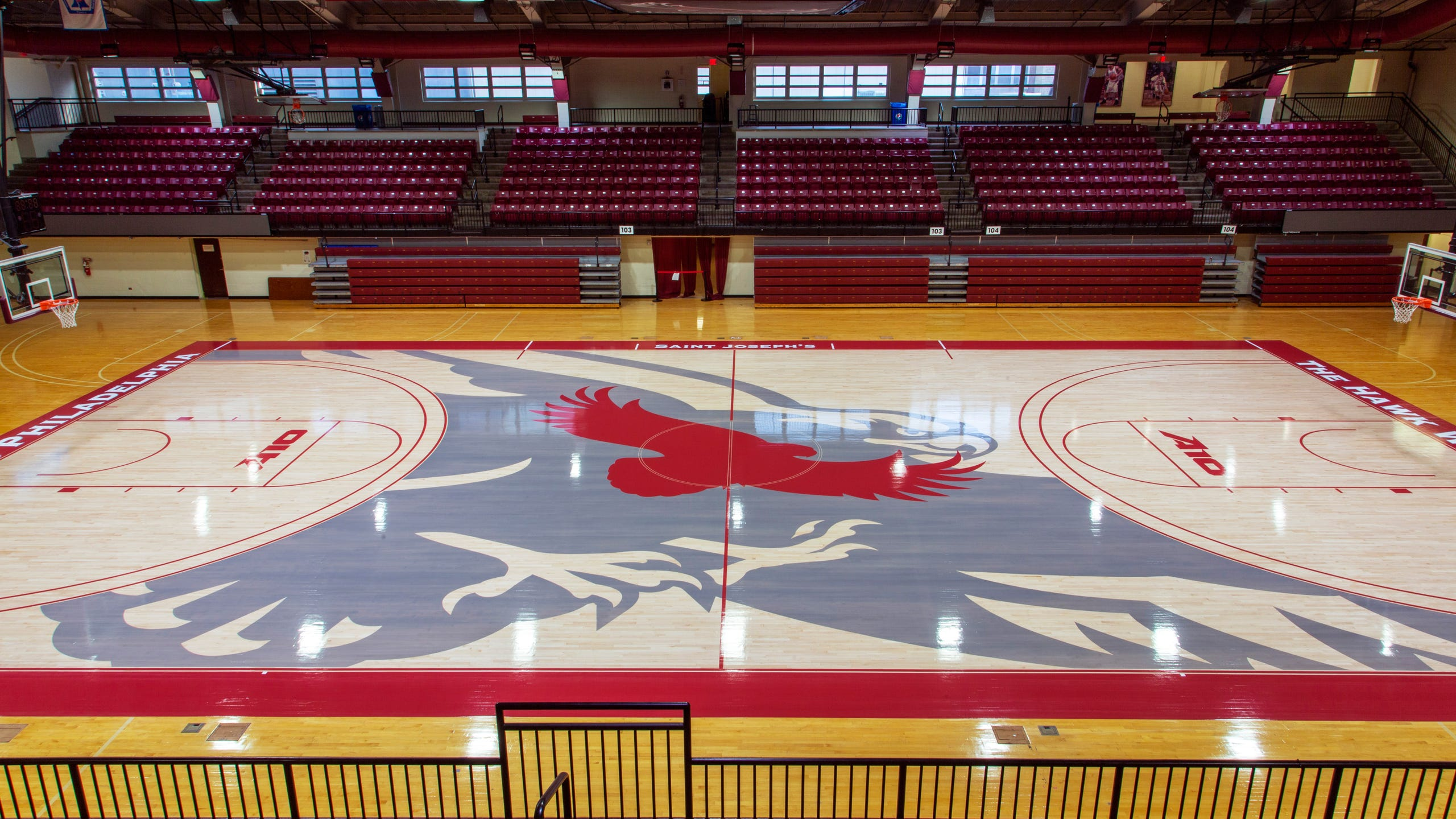 College Basketball The 20 Boldest Weirdest Court Designs In League