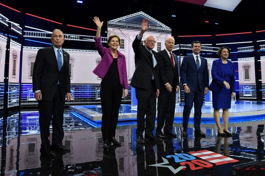Mike Bloomberg, in his first Democratic presidential debate, didn't get it done