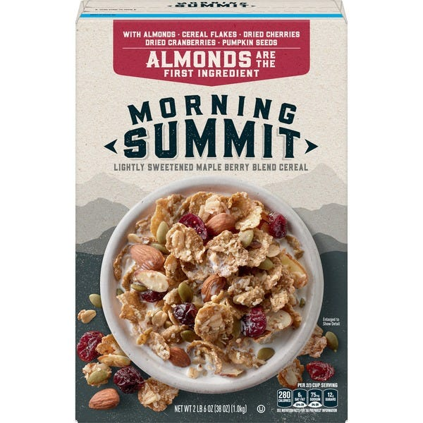 General Mills says pricey cereal will boost sales.