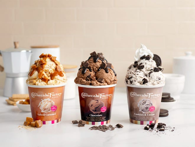 The Cheesecake Factory has a new line of cheesecake-flavored ice cream available in seven flavors.