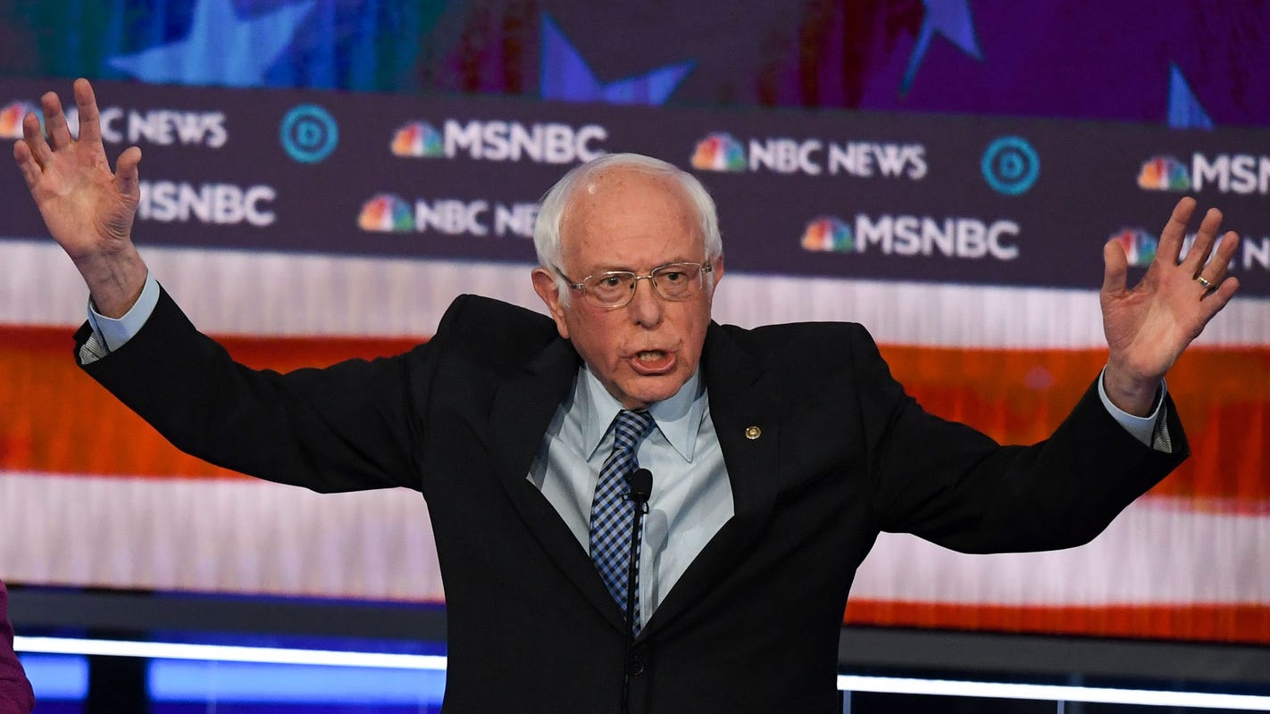 California poll: Bernie Sanders surging ahead of the pack among Golden State voters