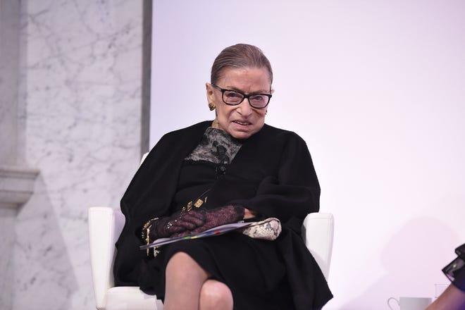 Ruth Bader Ginsburg at the 2020 DVF Awards on Feb. 19, 2020 in Washington, DC.