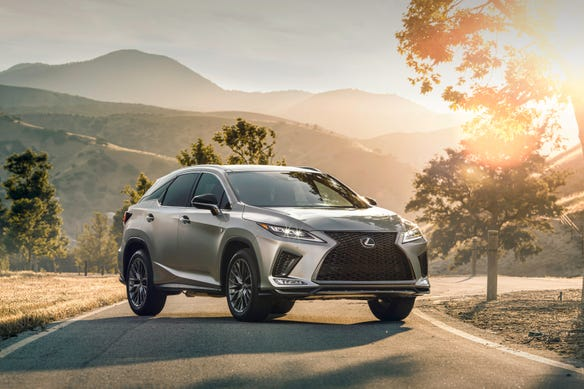 The 2020 Lexus RX was named as a Consumer Reports Top Pick.